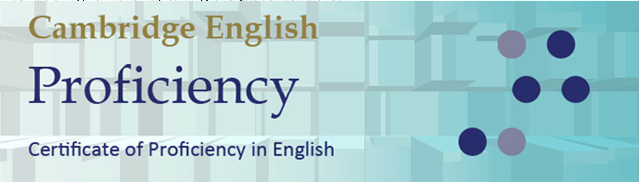 english proficiency An applicant whose native language is not english must provide proof of english proficiency your application will not be processed without valid proof of english proficiency.